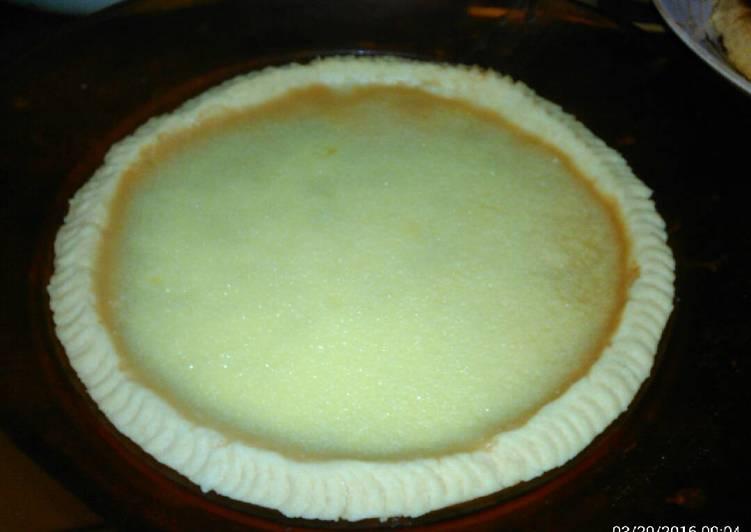 Resep Pie susu/kue lontar ala nyonyah Terbaik