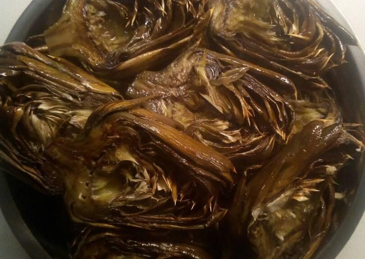 Ricetta Carciofi Siciliani al forno 🎅⭐🎄