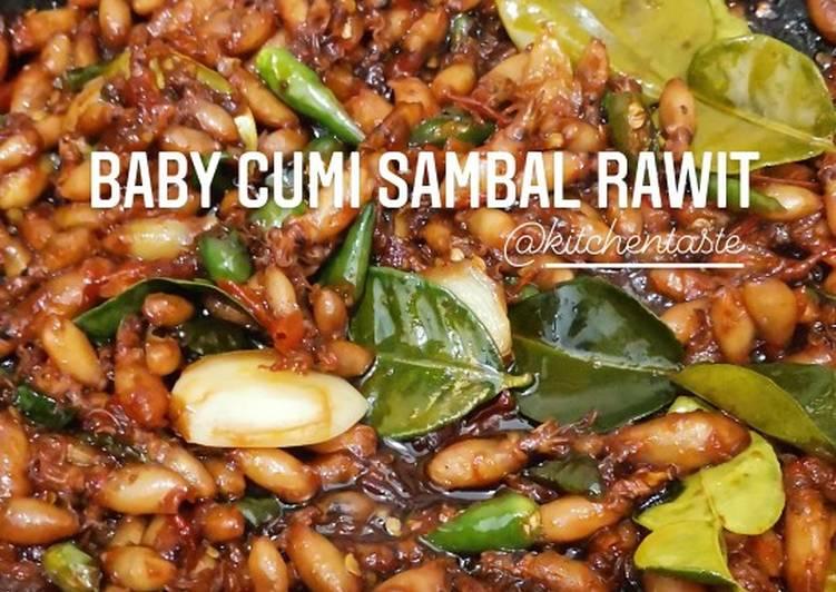 BABY CUMI SAMBAL RAWIT ala Kitchentaste