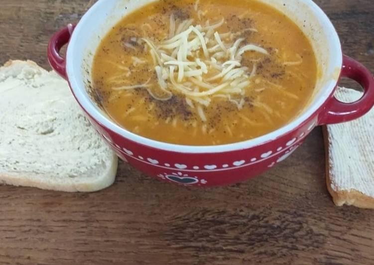 Comment Cuisiner Délicieux Soupe tomate a la cookeo
