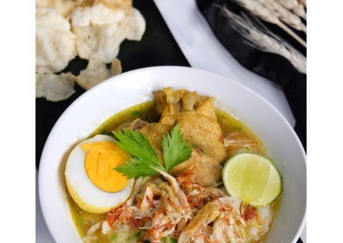Bubur Soto Ayam