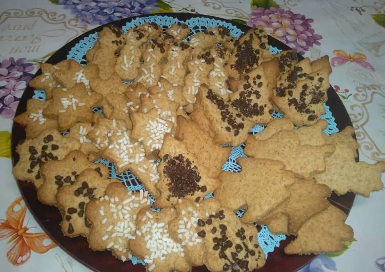 Ricetta Biscotti di pasta frolla al profumo di mandarino😋