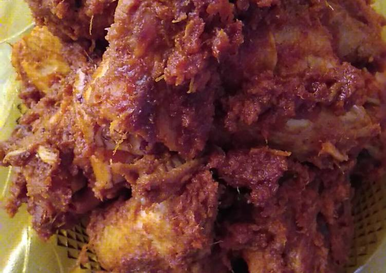 bagaimana  memasak rendang ayam resep enakmudahsimpel komplit Resepi Rendang Frozen Enak dan Mudah