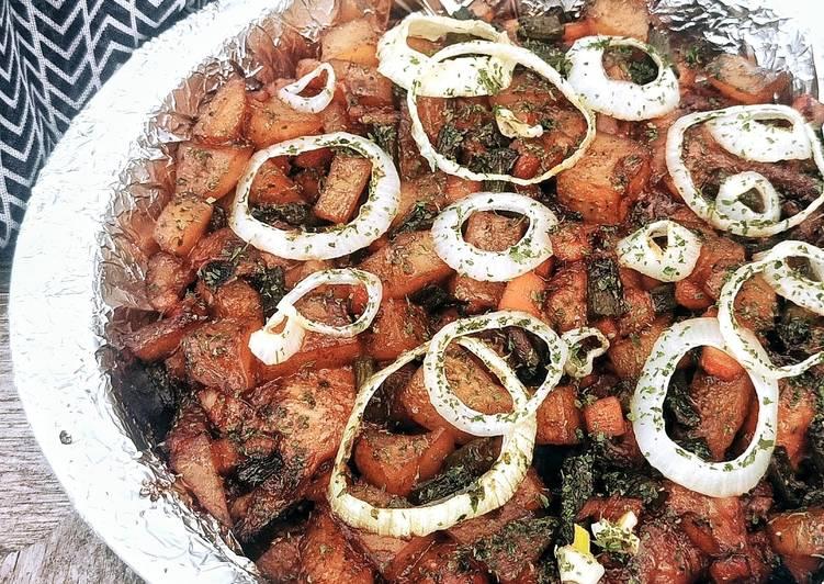 Ayam Panggang Mix Veggies