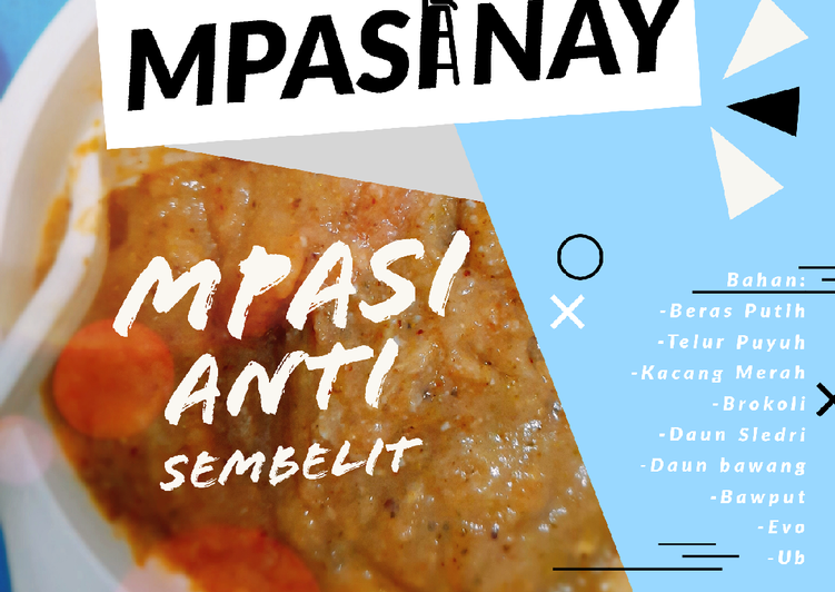 Resep Mpasi 6m Anti Sembelit Oleh Ummunay Cookpad