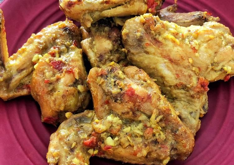 Sayap Ayam Betutu (Versi Kering)
