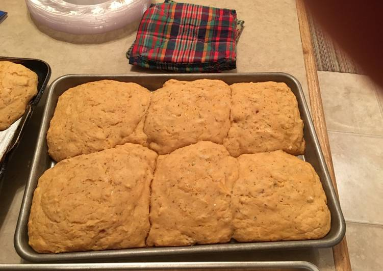 Simple Way to Make Speedy Jeremiah's Pizza-tastic Beer Biscuits