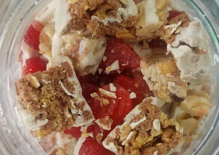 Overnight Oat Strawberry
