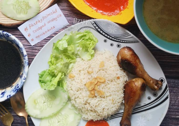 Simply delicious chicken rice #phopbylinimohd - velavinkabakery.com