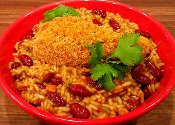 Easiest Way to Cook Delicious Mikes Crispy Cajun Legs Over Red Beans  Rice