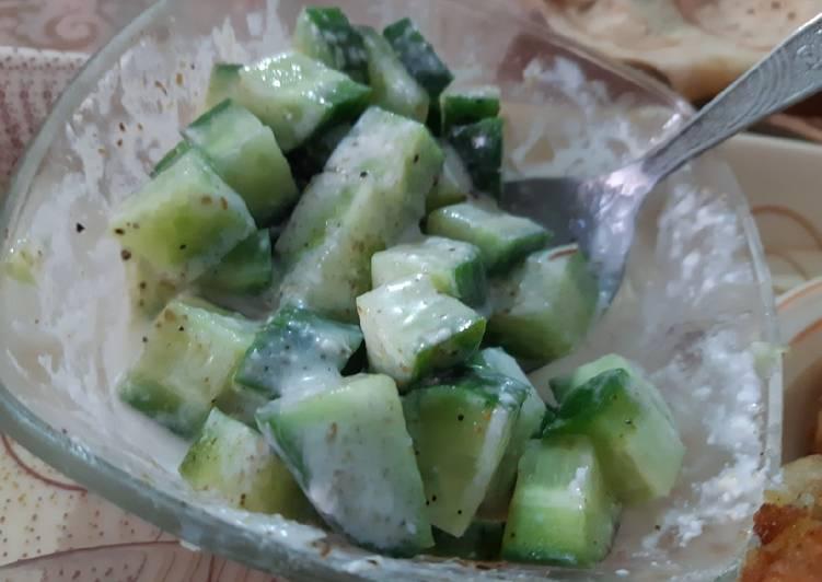 Easiest Way to Make Award-winning Cucumber raita