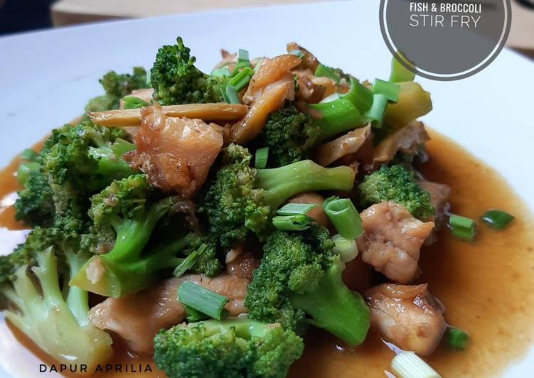 Fish & Broccoli Stir Fry || Ala Chinese Resto