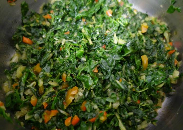 Recipe of Speedy Spinach just simple