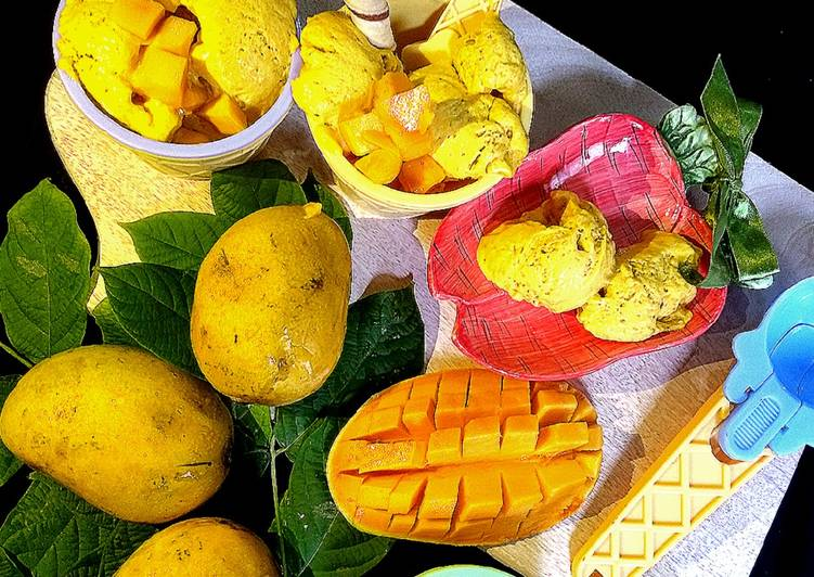 Mango Banana Icecream