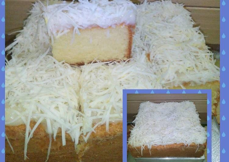 Lemon cheese cake#seninsemangat#bikinramadanberkesan