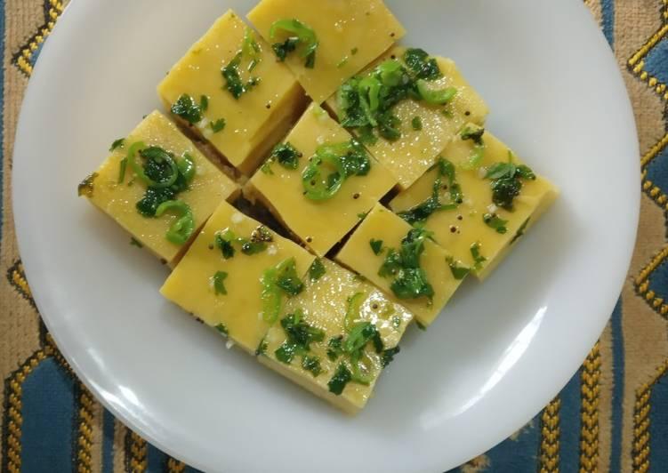 Top 10 Dinner Ideas Vegan Khaman Dhokla