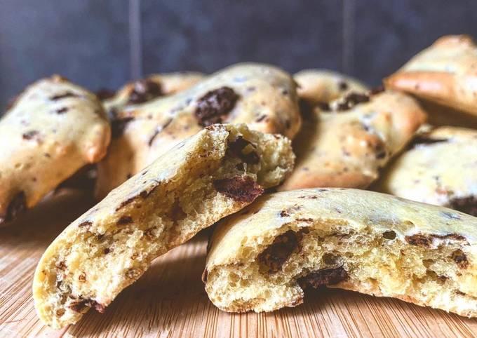 Cookies fondant pépites chocolat