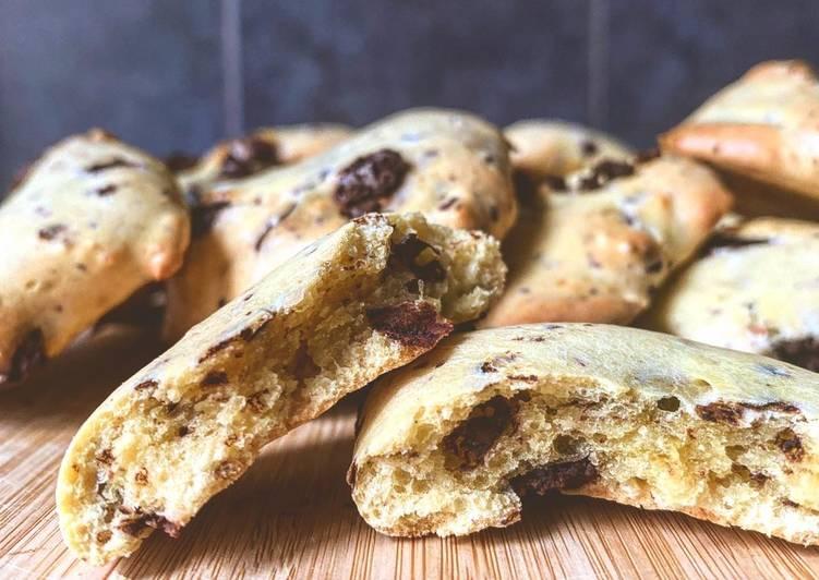 Recette De Cookies fondant pépites chocolat