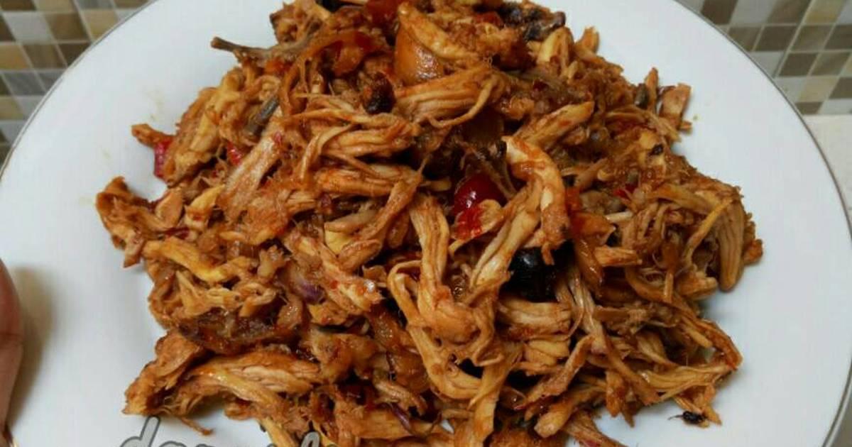 Resep Ayam Suwir Pedas Manis Oleh Dapurasa Cookpad