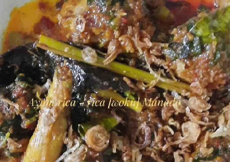 Ayam Rica -Rica[woku] manado
