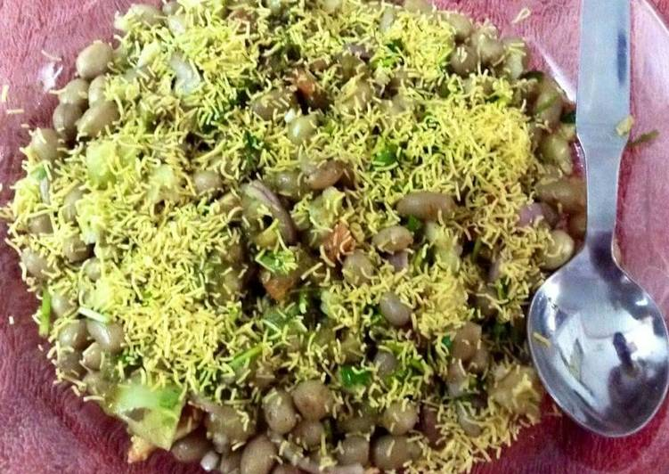 Home made Simple delicious recipe its Peanut chaat