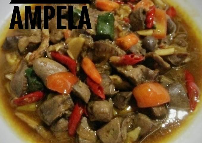 Resep Krengsengan Ati Ampela Ayam Oleh Tri Jullie Cookpad