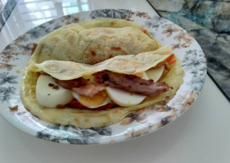 Simple Brekkie Wrap