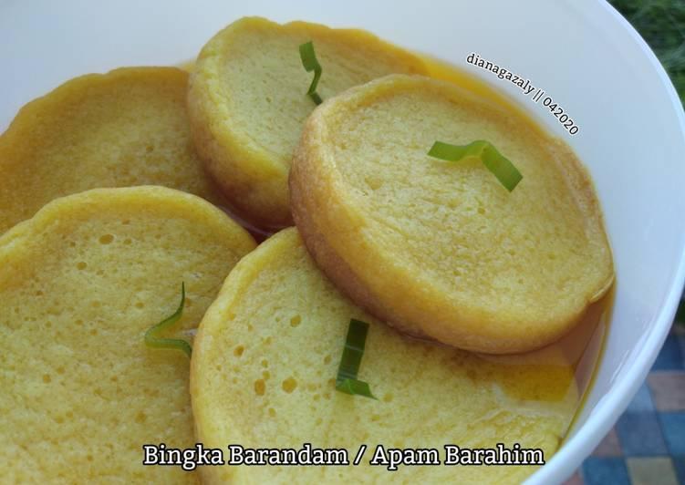 Resep Bingka Barandam Apam Barahim Oleh Diana Az Cookpad