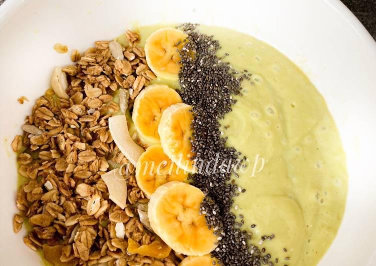 Resep Sarapan sehat avocado oatmeal Top