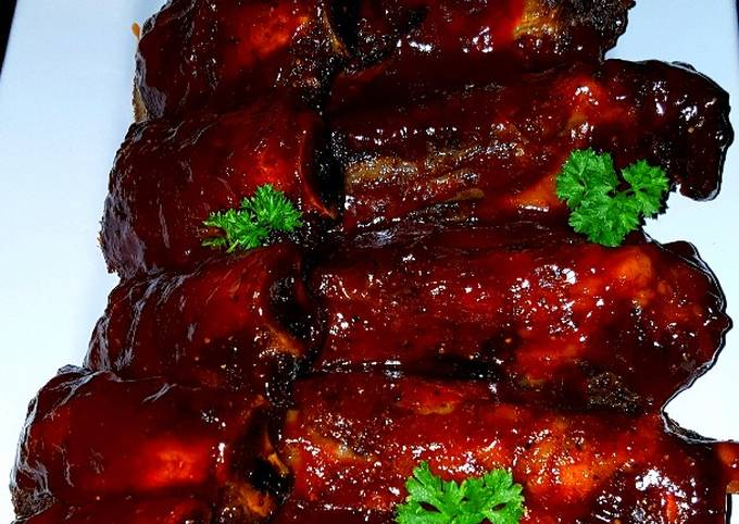Recipe: Appetizing Mike's Smoked BBQ'd Beef Ribs