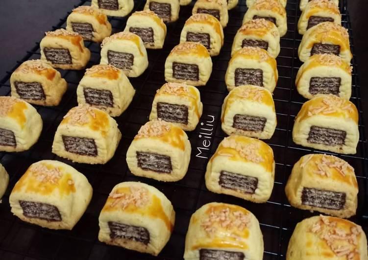 Resep Kastengel Wafer Cookies, Lezat Sekali