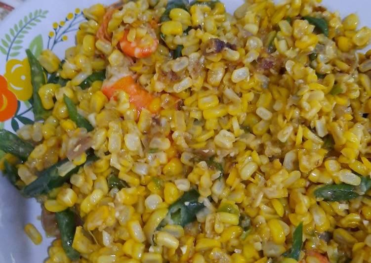 Sambal jagung pedas