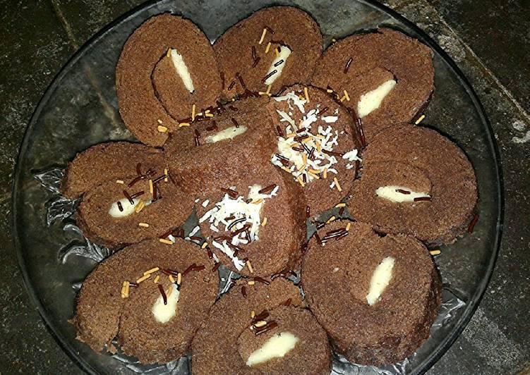 Bolu Gulung Kukus Chocolatos
