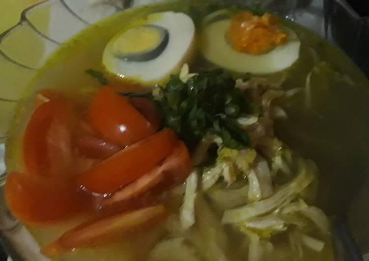 Soto Ayam Kuah Bening
