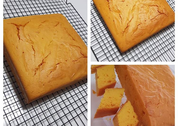 Orange Cake (Baked Version)