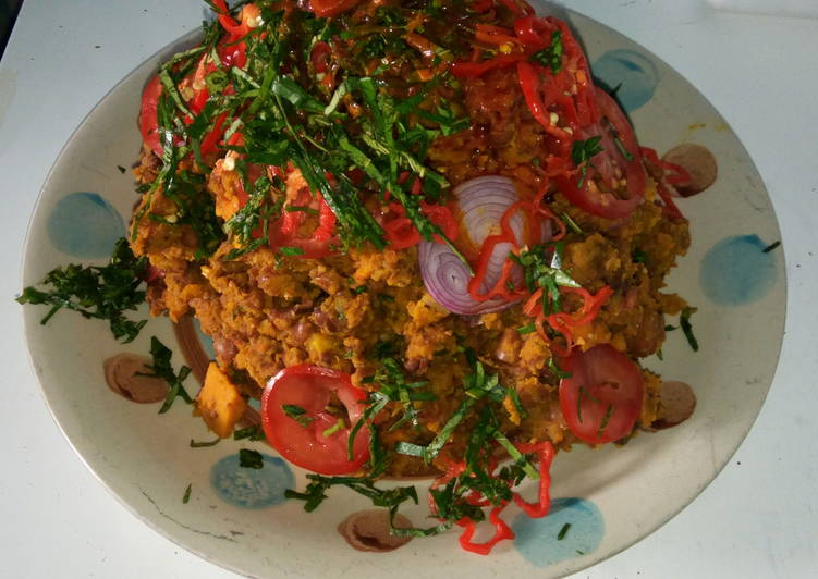 Beans & Plantain Agwororagwo