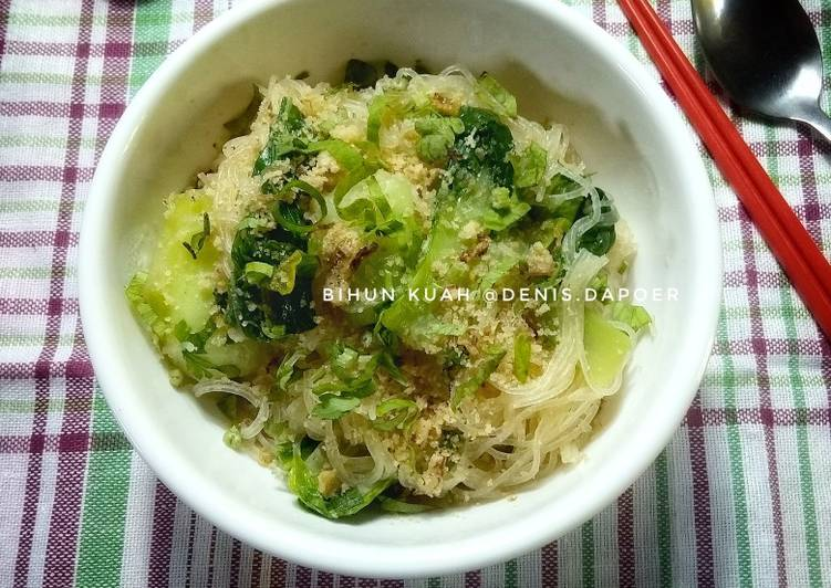 Bihun kuah super simple