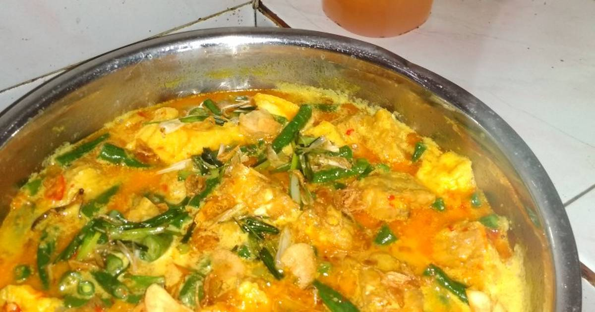Resep Kacang Panjang Tahu Tempe Kuah Santan Pedas Oleh Ulvariyani Cookpad