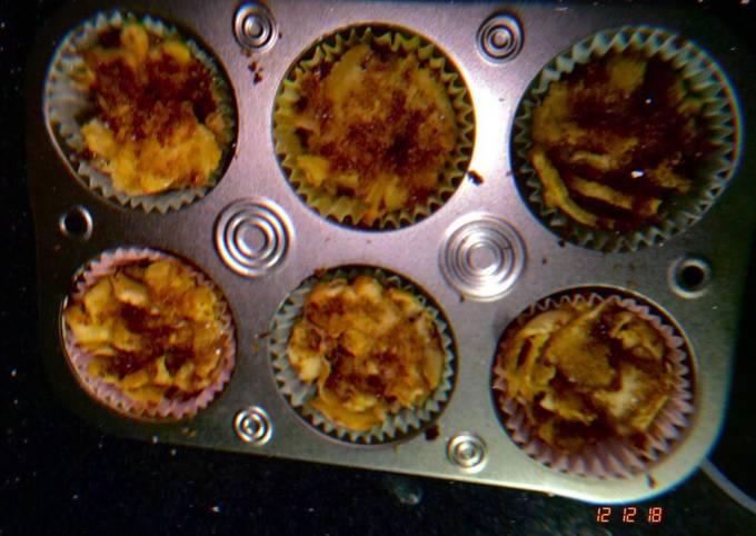 Recipe: Perfect Apple Pie Crepe Cupcake…things