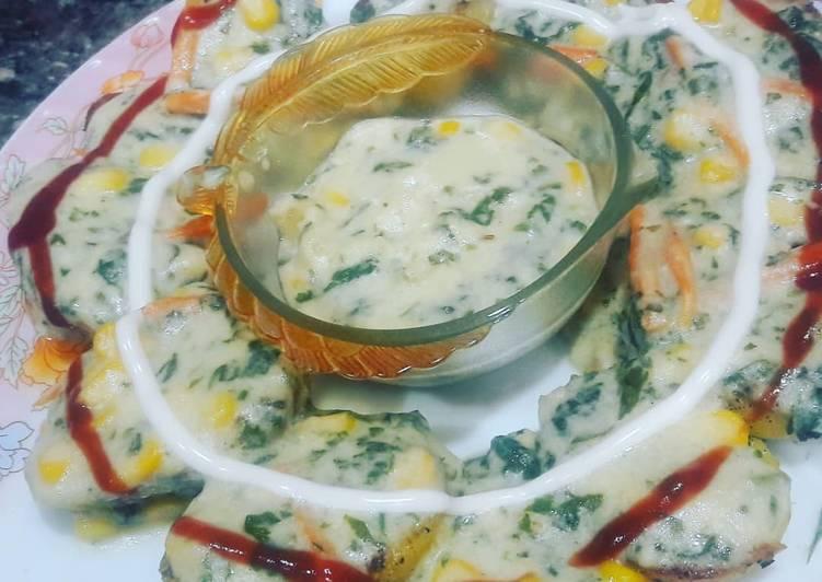 How to Make Homemade Mexi Cheese corn aloo