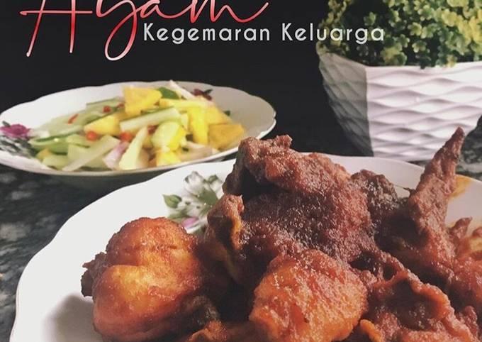 Sambal Ayam @ Ayam Masak Merah #MunahMasak
