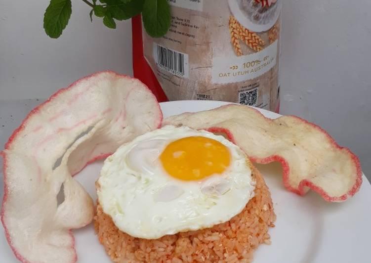 Nasi goreng telur mata sapi