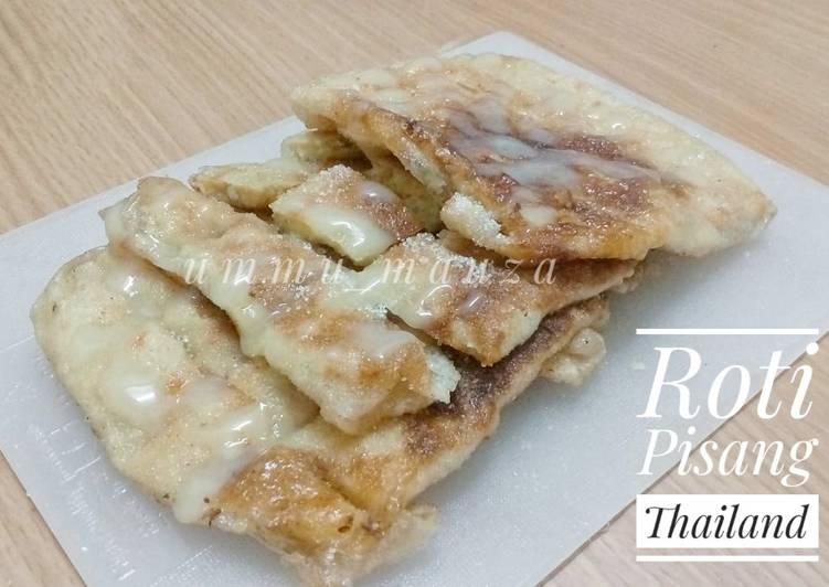 Resep Roti Pisang Thailand Paling Enak