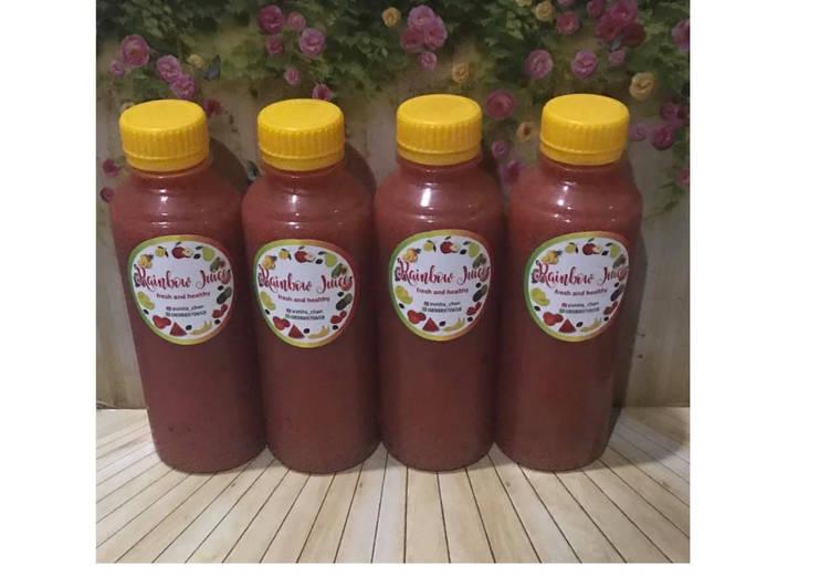 Diet Juice Carrot Strawberry Dates Plum Watermelon