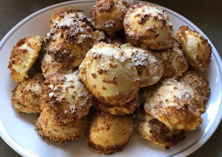 Oven Fried Ravioli
