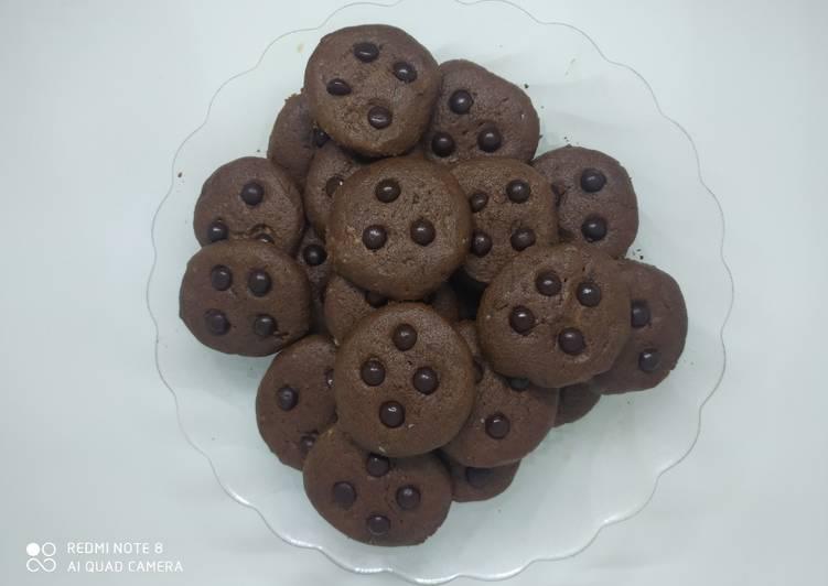 Cookies Cokelat (tanpa oven)