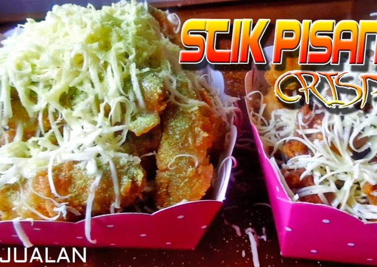 Stik Pisang | Pisang Goreng Crispy | Ide Jualan