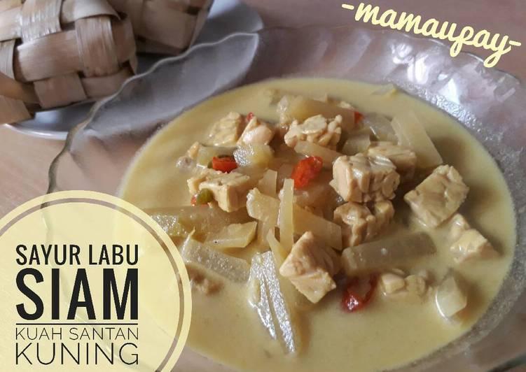 Sayur Labu Siam Kuah Santan Kuning