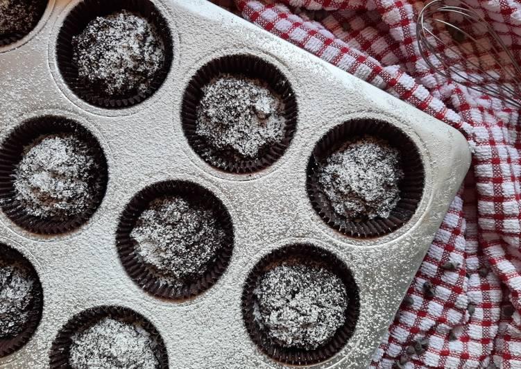 Ricetta Br-uffins al cioccolato