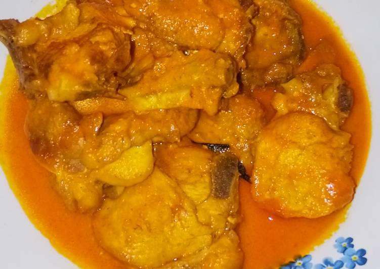 Resep Rendang ayam tanpa santan Yang Simple Endes